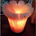 Соляная лампа Каменный цветок