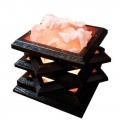 Соляная лампа Камин настольный 2-3 кг