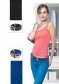 Ремень эластичный мультиразмерный черный waistbelt black
