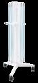 Облучатель ОБПЕ-450 шестиламповый передвижной с лампами