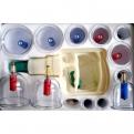 Пластиковые банки для вакуумного массажа с магнитами (12 шт)