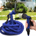 Складной растягивающийся шланг для полива Magic Hose (XHose). Длина 22,5м.
