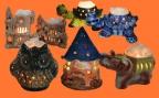 Соляные лампы на Керамическом основании