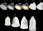 Лампы Ecola MR16, GU10 (аналог галогенок)